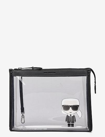K/Ikonik Transparant Pouch - tasker - black