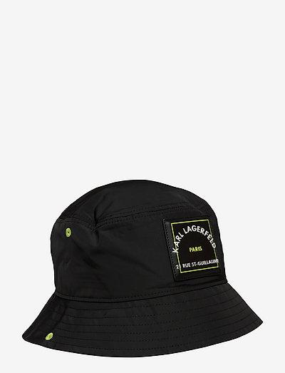 Rsg Patch Bucket Hat - bøttehatter - black