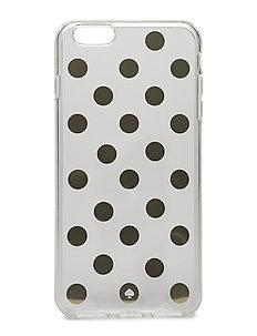 IPHONE CASES LE PAVILLION CLEAR - 6 PLUS - CLEAR/GOLD
