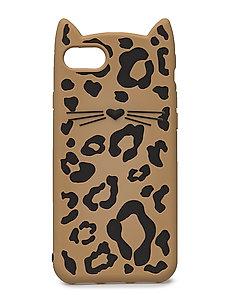IPHONE CASES SILICONE CHEETAH CAT - 7 - MULTI