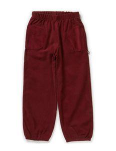 Soft Corduroy Loose Pants - ZINFANDEL