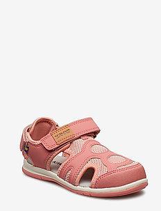 Vallby - sandals - strawberry rose