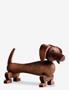 Hund - trefigurer - walnut