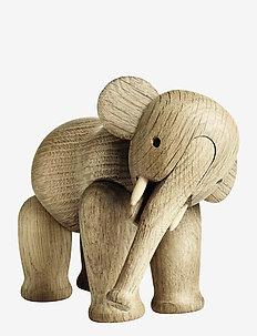 Elefant liten - trefigurer - oak