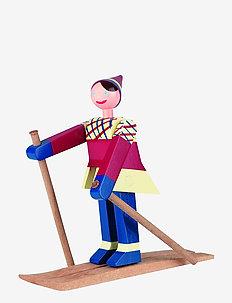 Skiløper Datti, jente multi - trefigurer - multi