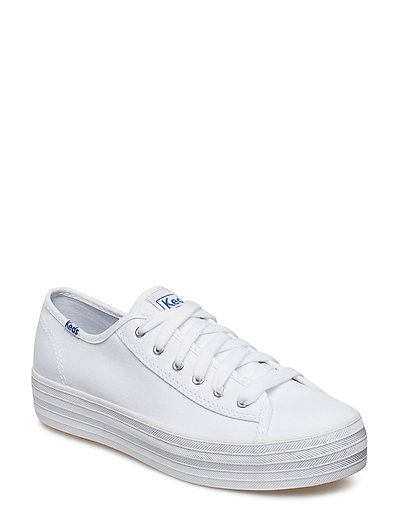 TRIPLE KICK CANVAS - WHITE