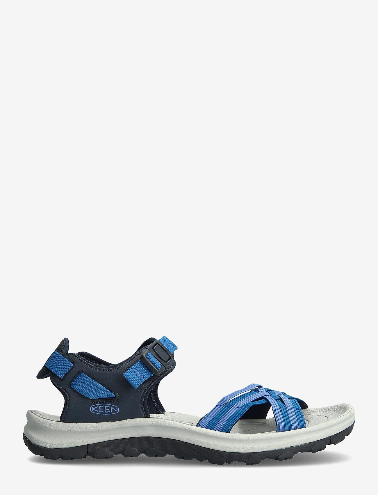 KEEN - KE TERRADORA II STRAP OPEN TOE W NAVY-MYKONOS BLUE - hiking sandals - navy-mykonos blue - 1