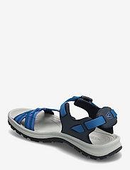 KEEN - KE TERRADORA II STRAP OPEN TOE W NAVY-MYKONOS BLUE - hiking sandals - navy-mykonos blue - 2