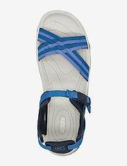 KEEN - KE TERRADORA II STRAP OPEN TOE W NAVY-MYKONOS BLUE - hiking sandals - navy-mykonos blue - 3