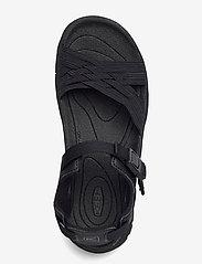 KEEN - KE TERRADORA II STRAP OPEN TOE W BLK-AFR VIOLET - hiking sandals - blk-afr violet - 3