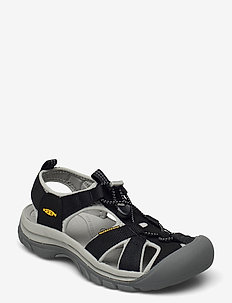 KE VENICE H2 W BLACK-NEUTRAL GRAY - hiking sandals - black-neutral gray