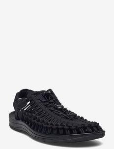 KE UNEEK M BLACK-BLACK - sandalen - black-black