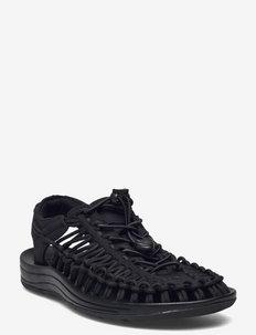 KE UNEEK W BLACK-BLACK - hiking sandals - black-black