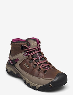 KE TARGHEE III MID WP W WEISS-BOYSENBERRY - chaussures de randonnée - weiss-boysenberry