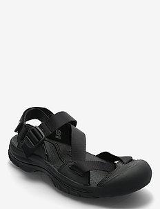 KE ZERRAPORT II M BLACK-BLACK - vandringsandaler - black-black