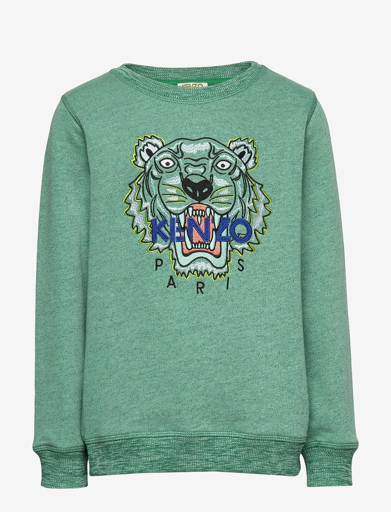 Kenzo - TIGER JB 5 - bluzy - green