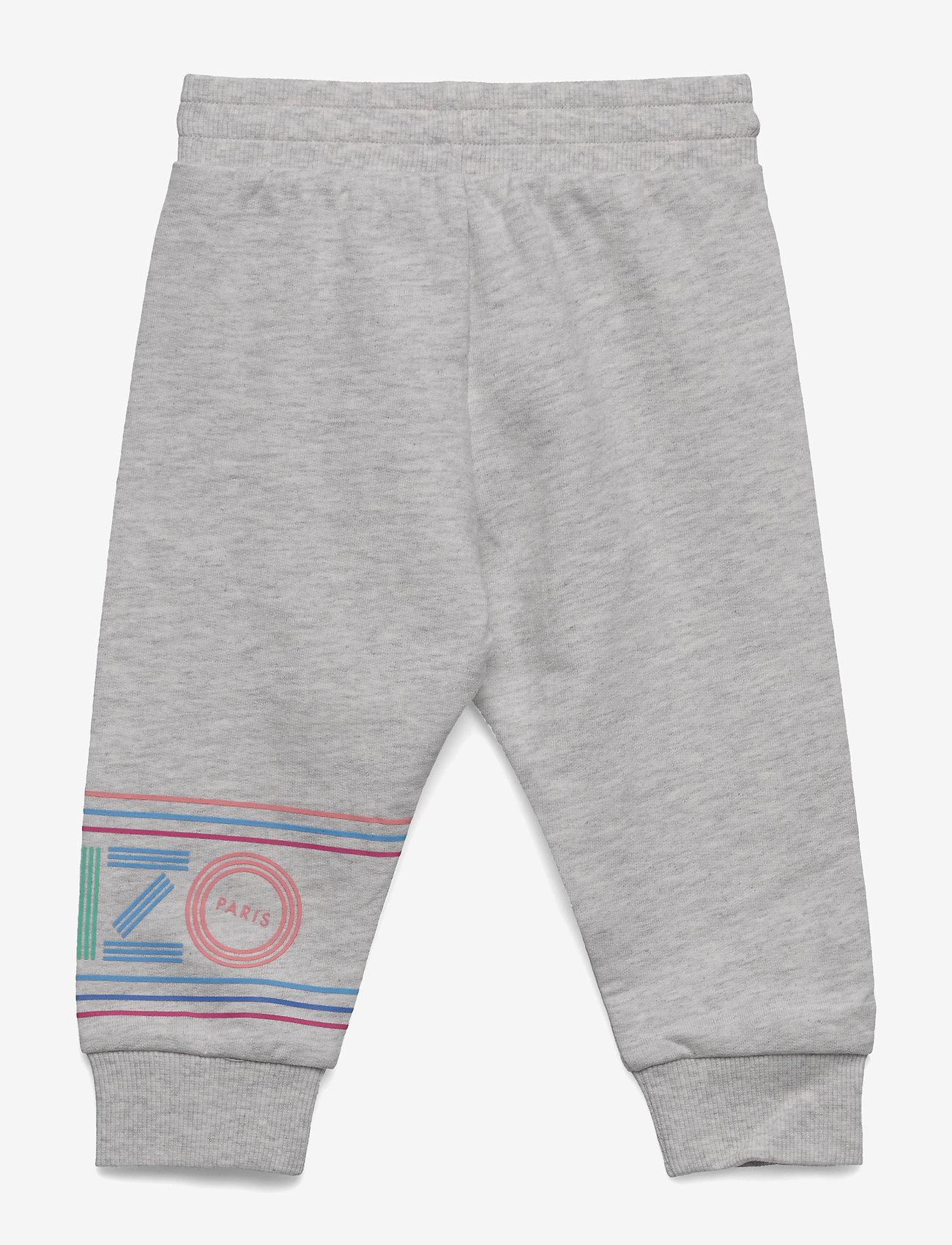 Kenzo - LOGO BG 3 - sweatpants - elephant color - 1