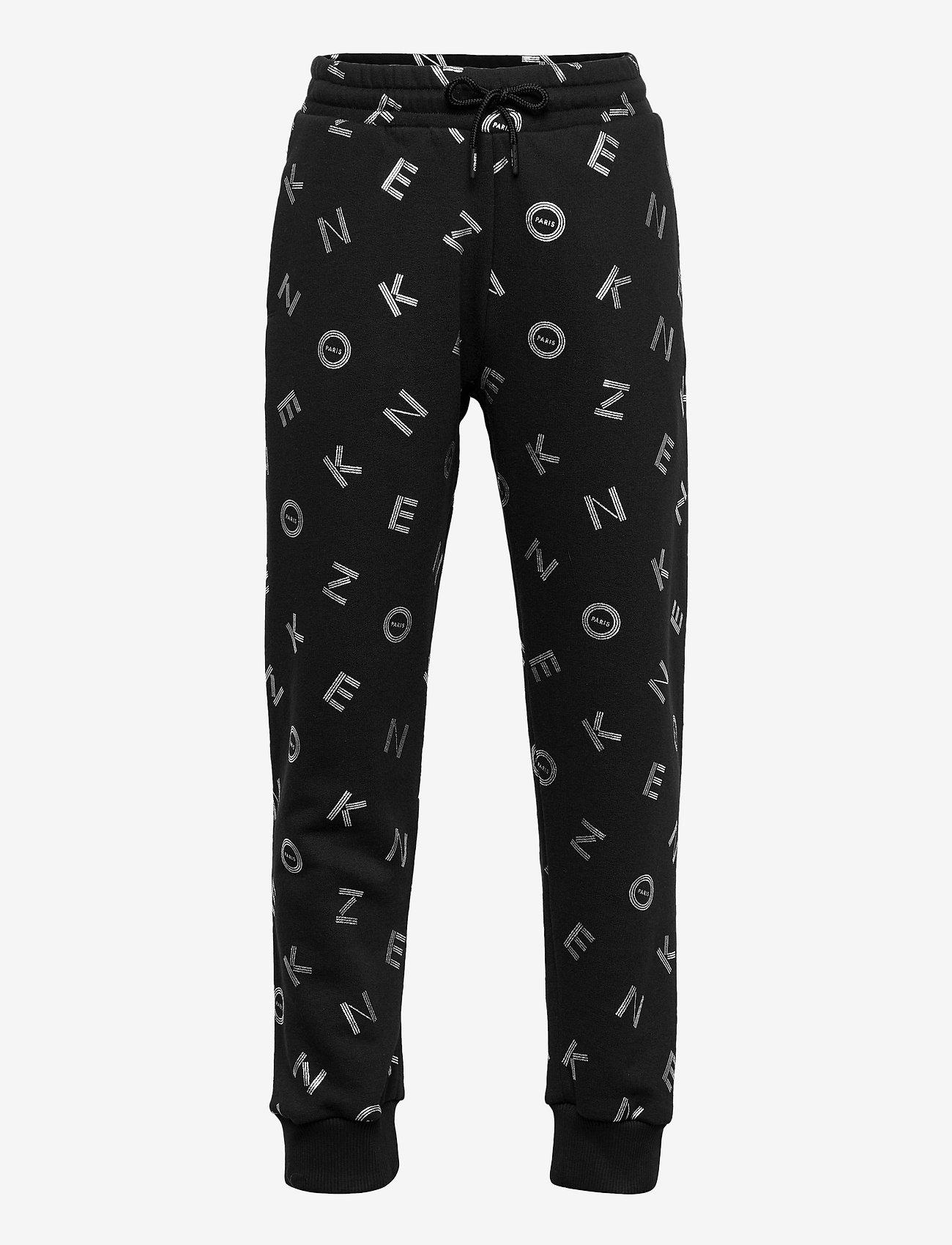Kenzo - TROUSERS - trousers - black - 0