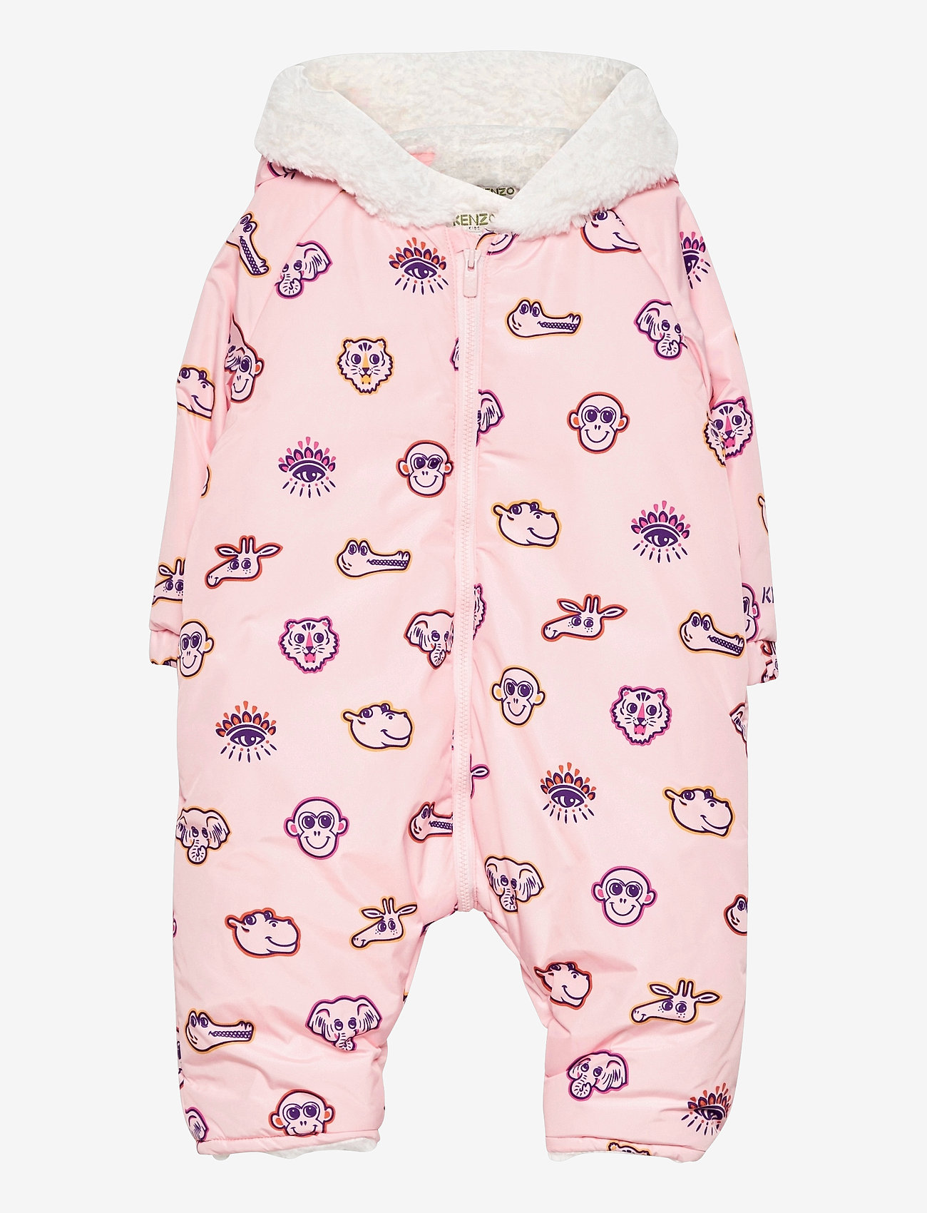 Kenzo - ALL IN ONE - shell coveralls - pale pink - 0