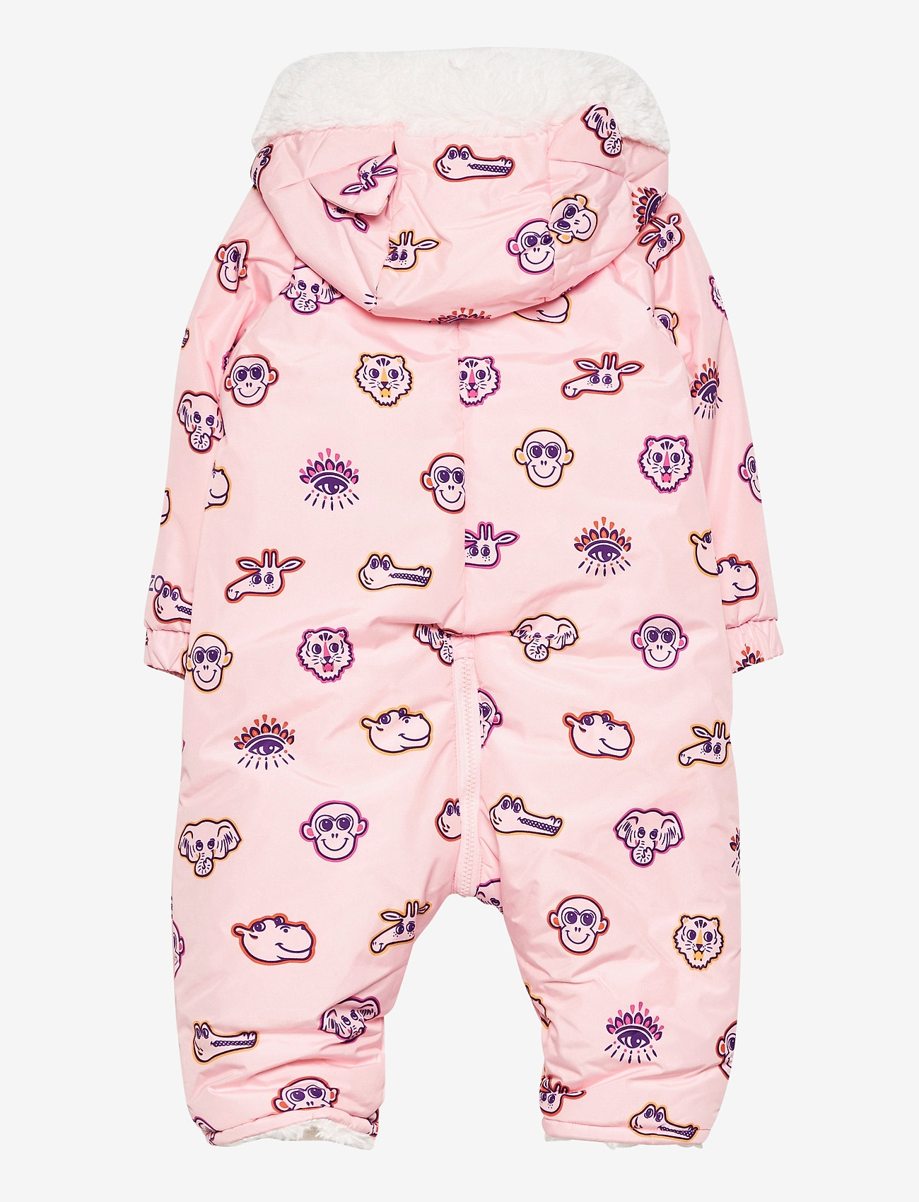 Kenzo - ALL IN ONE - shell coveralls - pale pink - 1