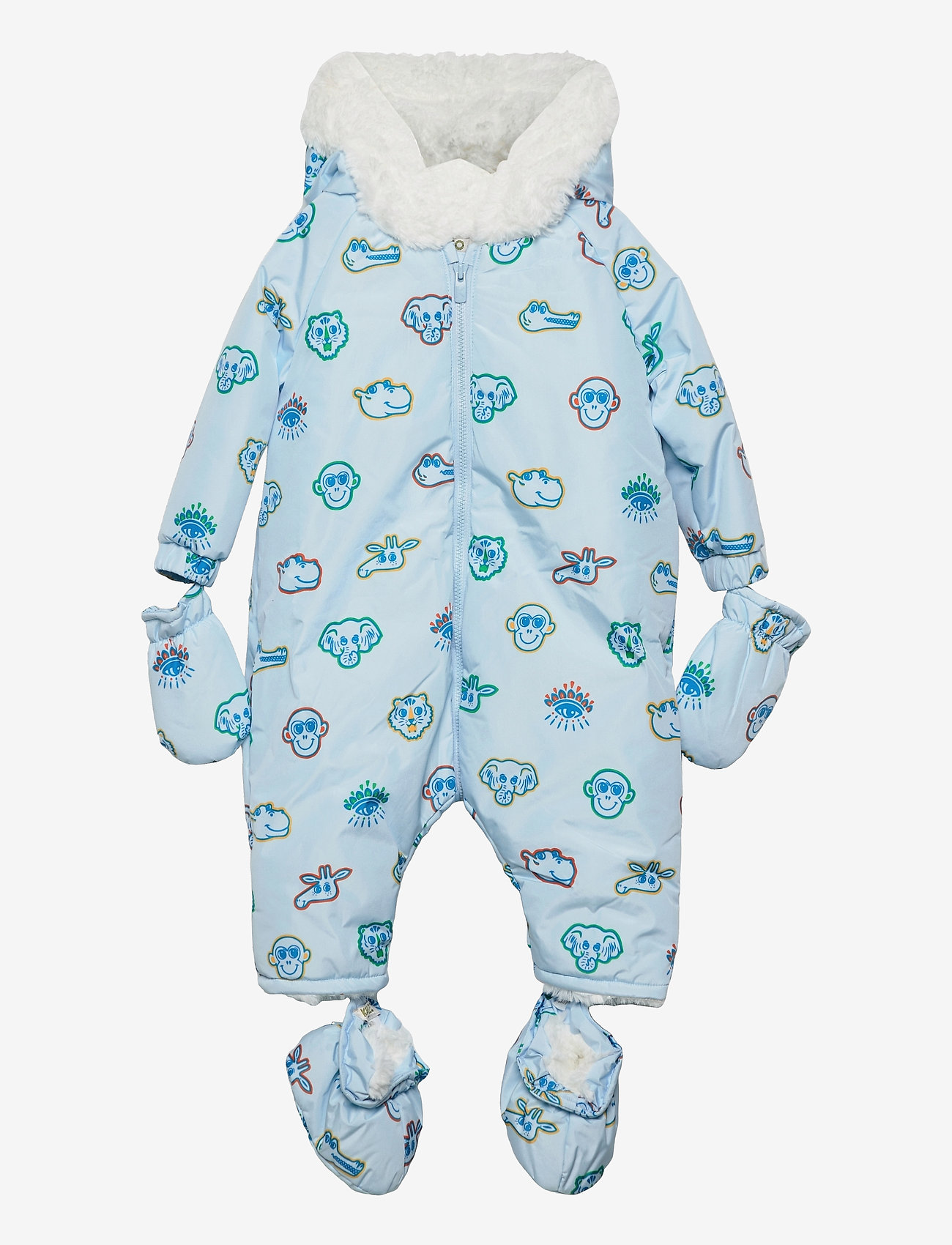 Kenzo - ALL IN ONE - snowsuit - pale blue - 0