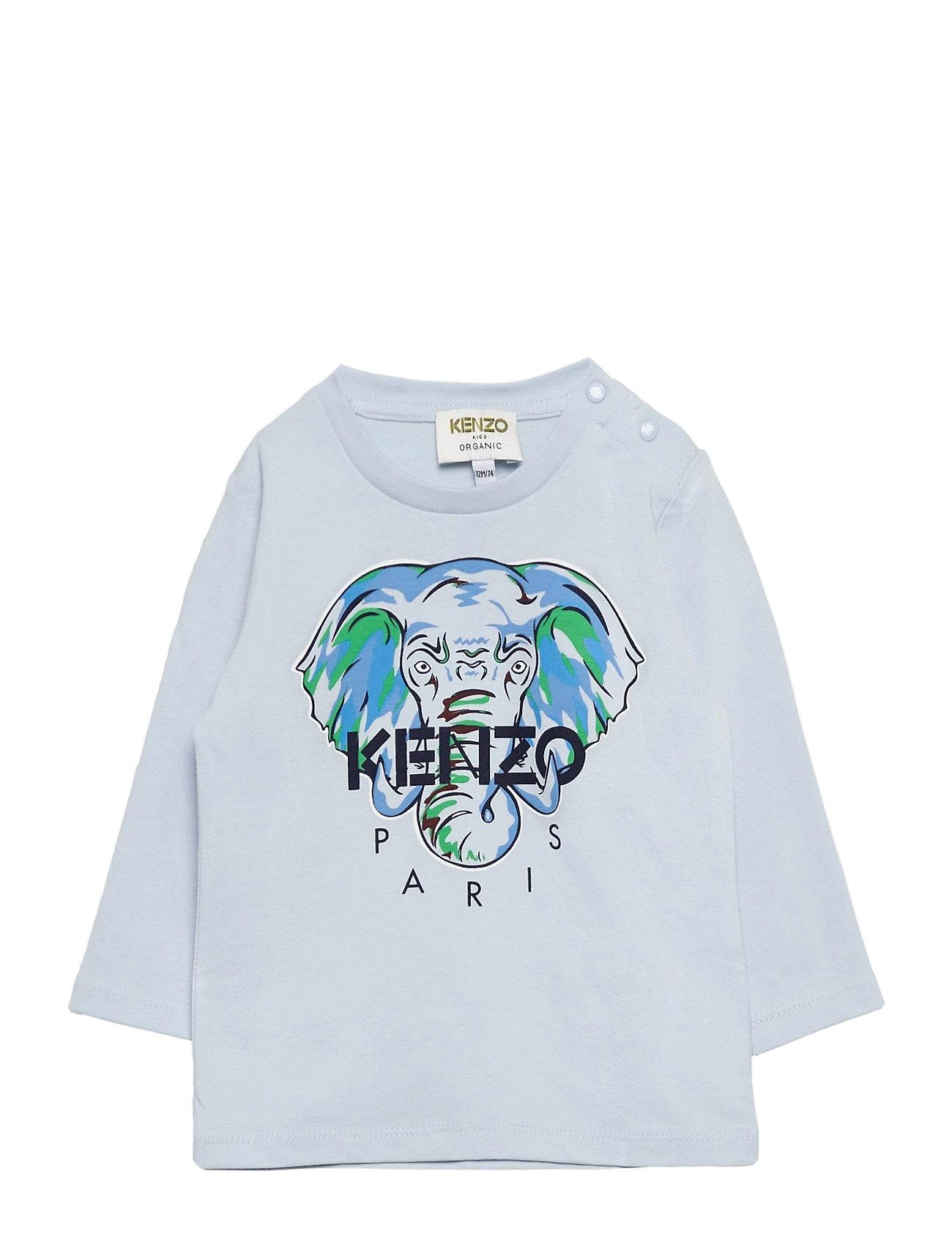 Image of Kit Langærmet T-shirt Blå Kenzo (3440209691)