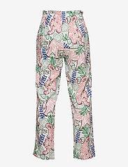 Kenzo - JANNA - trousers - white - 1