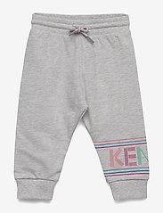 Kenzo - LOGO BG 3 - sweatpants - elephant color - 0