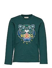 Tiger Jb 1 T-shirts Long-sleeved T-shirts Grønn KENZO