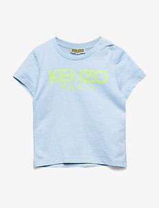 LOGO BB 1 - kurzärmelige - light blue