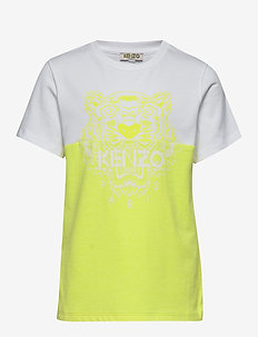 TIGER JB 4 - short-sleeved - yellow