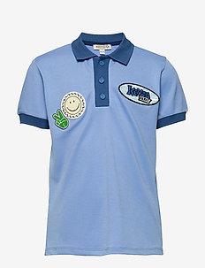 JORDY - koszulki polo - blue grey