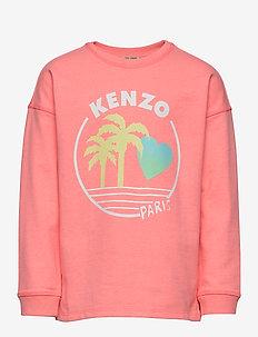 JIANNA - sweatshirts - middle pink