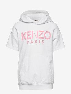 LOGO JG 7 - hoodies - white