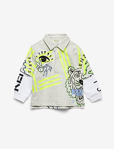 JEFFRY - koszulki polo - elephant color