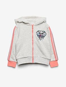 JANAE - hoodies - elephant color