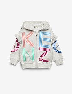LOGO BG 2 - hoodies - elephant color