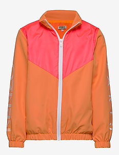 LOGO JG 6 - bomber jackets - orange