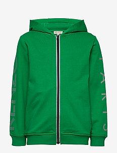 LOGO JB 8 - kapuzenpullover - green