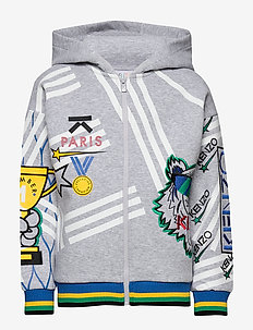 AKTION2-3 - hoodies - grey chine