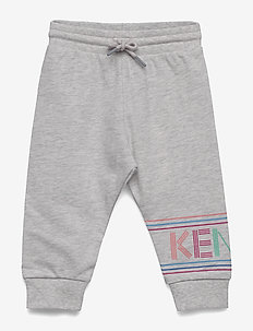 LOGO BG 3 - sweatpants - elephant color