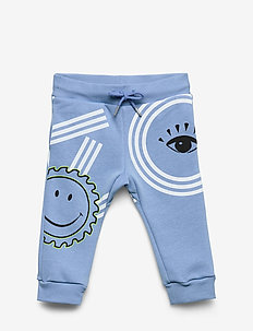 JIORGIO - sweatpants - blue grey