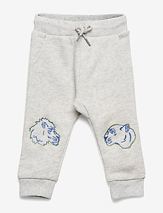 JAMEL - sweatpants - elephant color