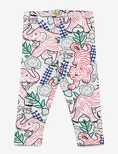 JINETTA - leggings - white