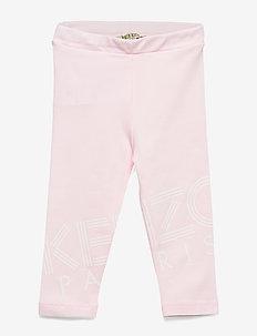 LOGO BG 4 - leggings - light pink