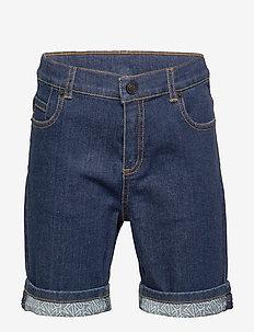 LOGO JB 15 - shorts - indigo
