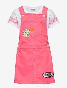 JERA - dresses - mid pink