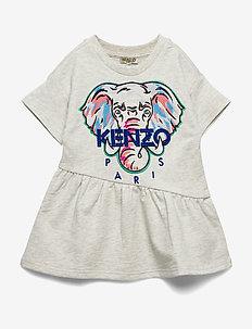 JACINTHE - sukienki - elephant color