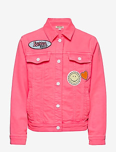 JEVY - denim & corduroy - mid pink