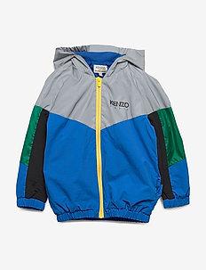 AKTION2-1 - veste coupe-vent - bleu fonce